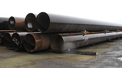 Large OD pipe, custom piling,36