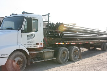 steel pipe delivered in Kansas City, wholesale steel, steel pipe distributor, steel pipe in the midwest, Kansas City Steel