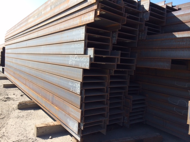 A992 Wide flange beams, steel beams in California, steel beams in Chicago, Steel beams in Houston
