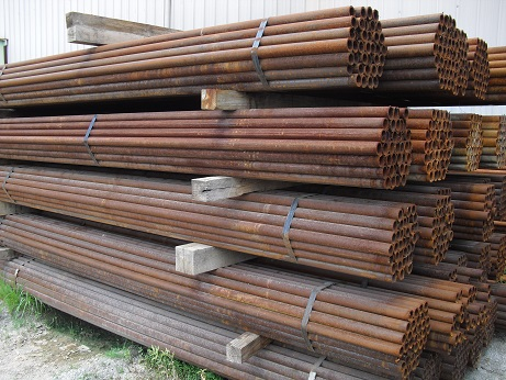 Steel pipe for dairy farms, used oilfield pipe, Kansas City steel pipe, steel pipe for bison, steel pipe for sale, steel pipe for making continuous fence, steel pipe for making gates and panels, downgraded pipe