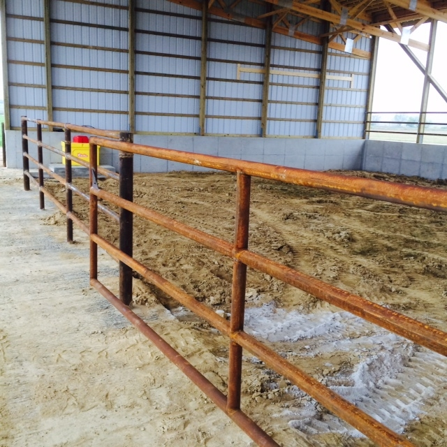 Steel pipe for feedlots, steel pipe for the rancher,